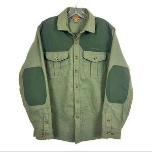 Eddie Bauer Forestry Guide Button Down Shirt S